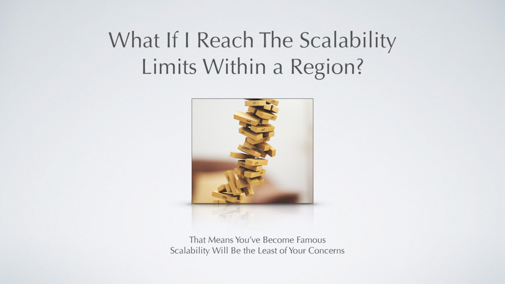 That Means You've Become Famous Scalability Wil...