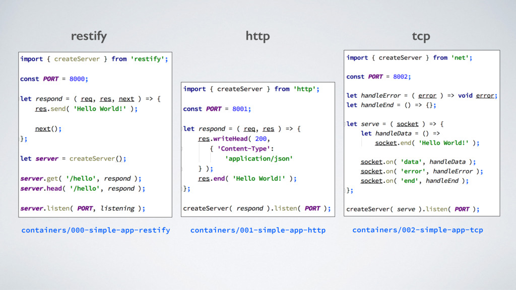restify http tcp containers/000-simple-app-rest...