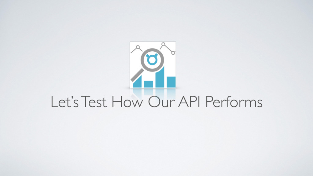 Let's Test How Our API Performs