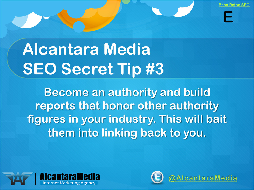 Boca Raton SEO Alcantara Media SEO Secret Tip #...