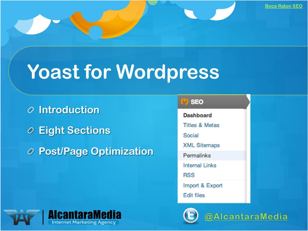 Boca Raton SEO Yoast for Wordpress !  Introduc...