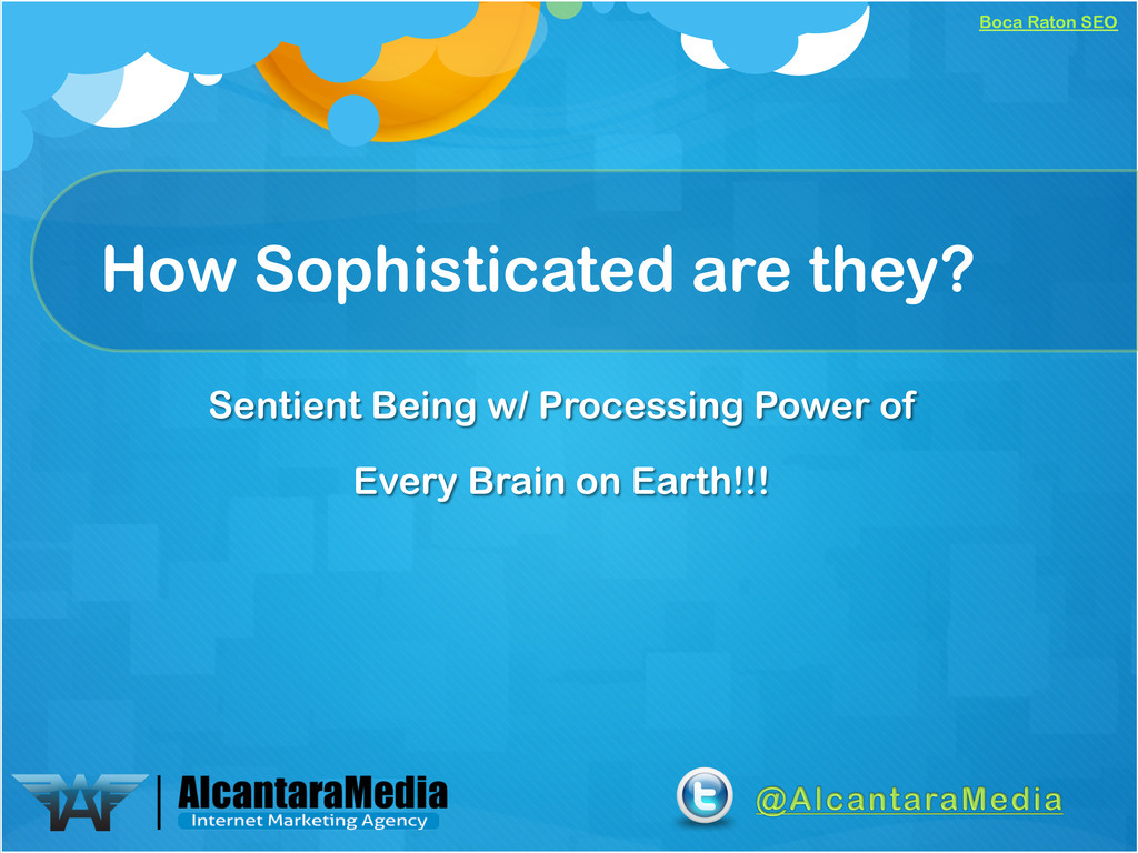 Boca Raton SEO How Sophisticated are they? Sent...