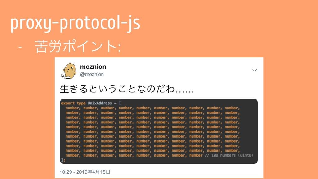proxy-protocol-js - ۤ࿑ϙΠϯτ: