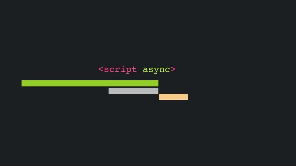 <script async>