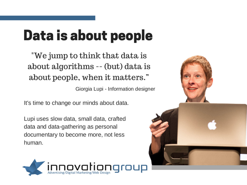 Data is about people It's time to change our mi...