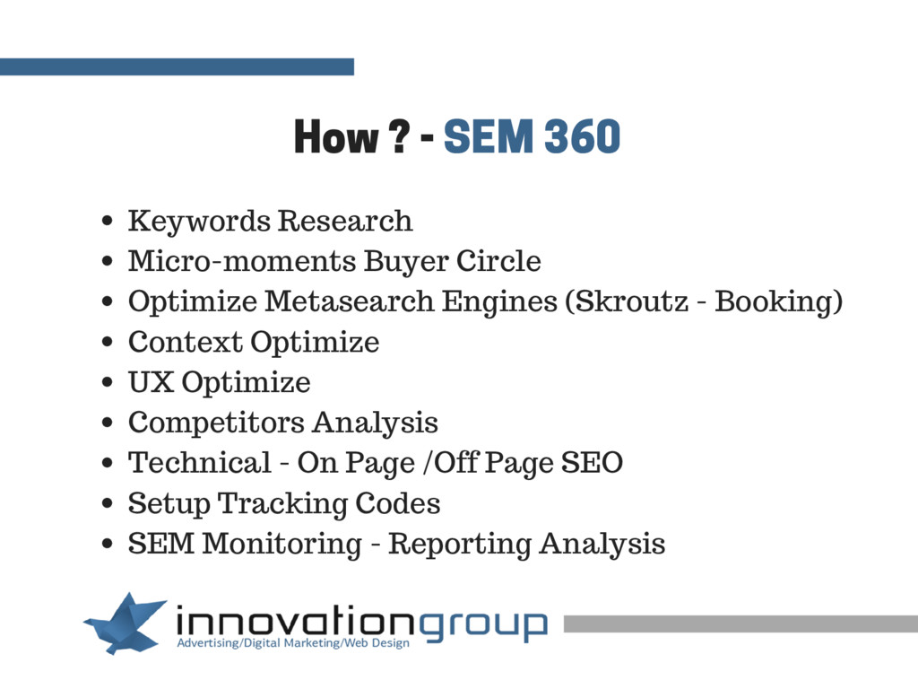 How ? - SEM 360 Keywords Research Micro-moments...