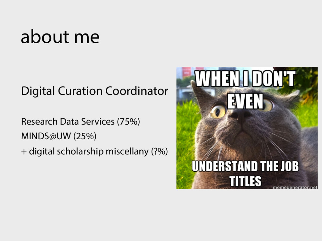about me Digital Curation Coordinator Research ...