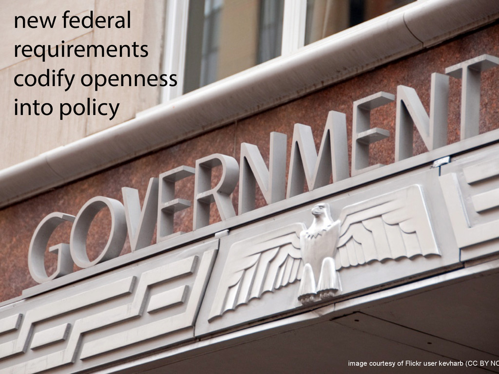 new federal requirements codify openness into p...