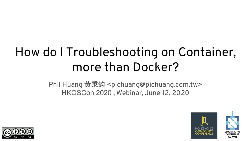 How do I Troubleshooting on Container, more tha...