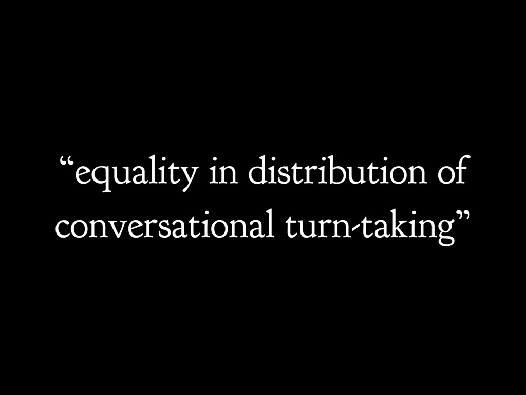 """equality in distribution of conversational tur..."