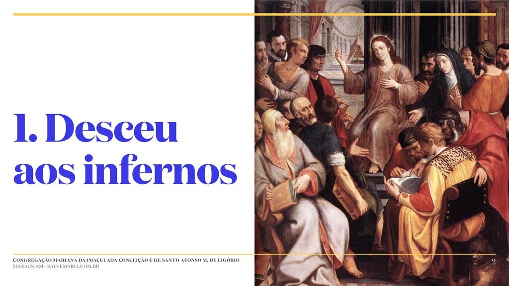 CONGREGAÇÃO MARIANA DA IMACULADA CONCEIÇÃO E DE...