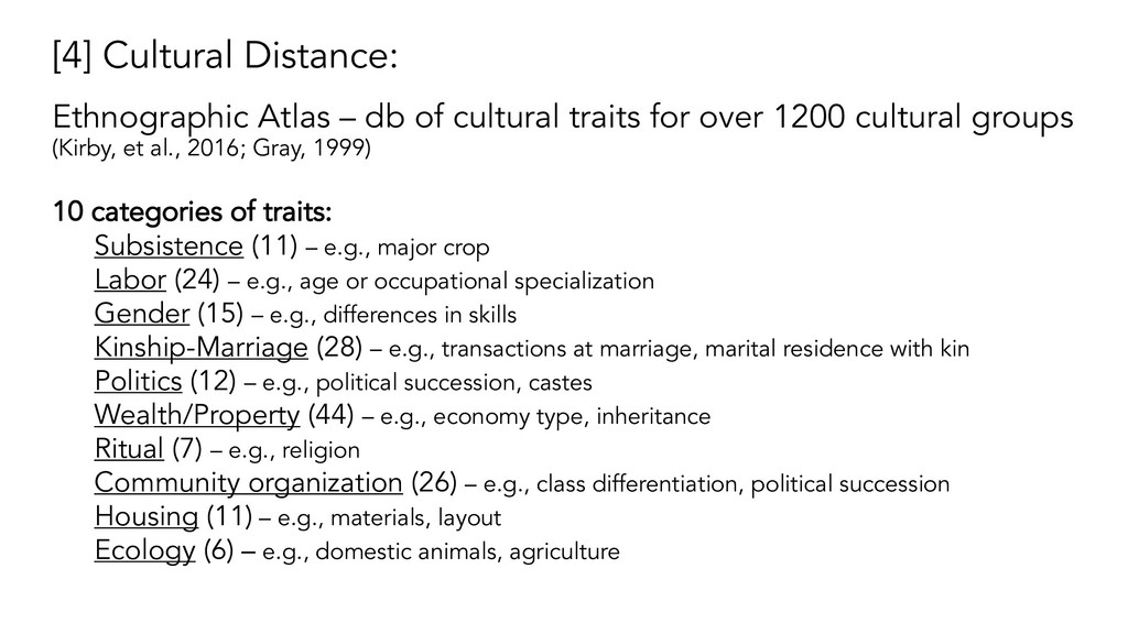 [4] Cultural Distance: Ethnographic Atlas – db ...