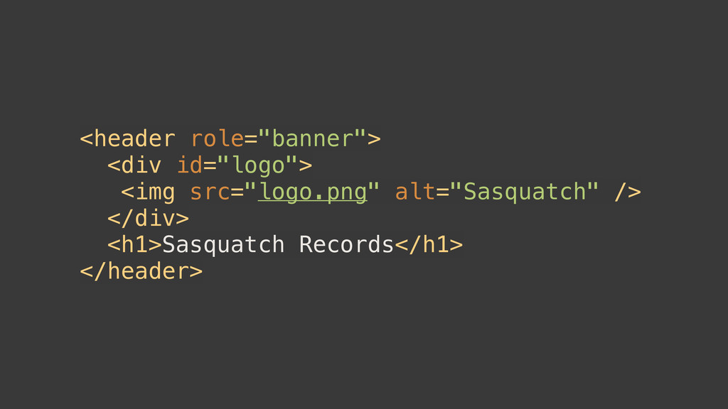 "<header role=""banner""> <div id=""logo""> <img src..."