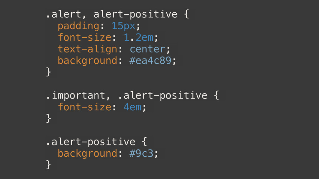 .alert, alert-positive { padding: 15px; font-si...