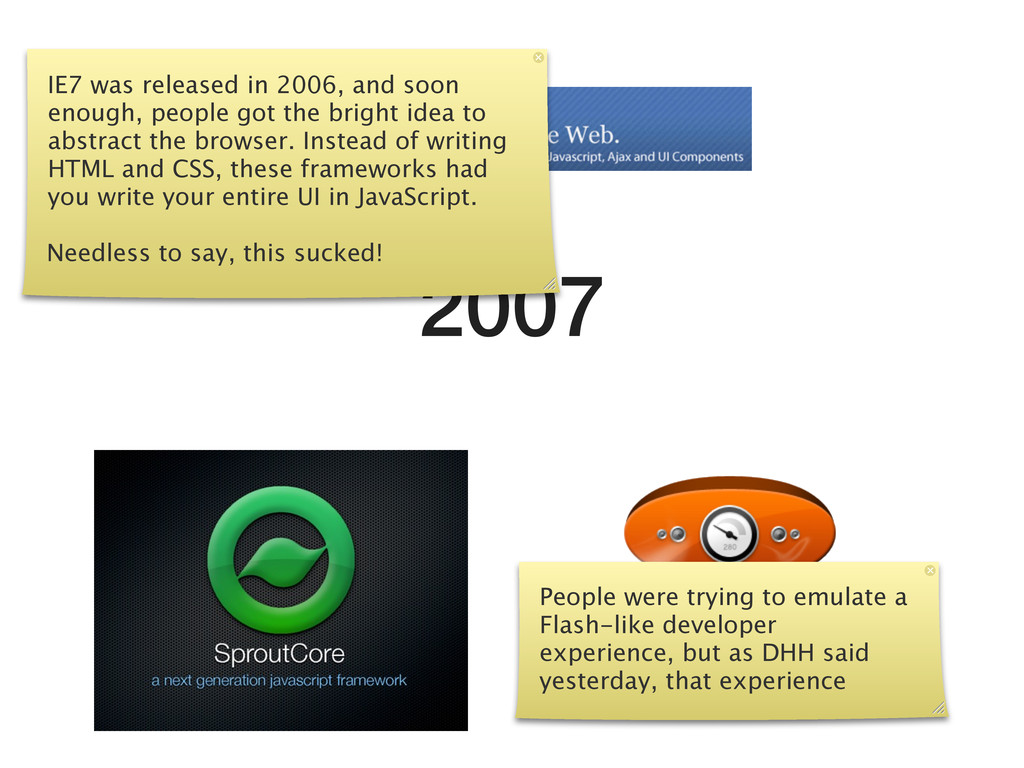 2007 IE7 was released in 2006, and soon enough,...