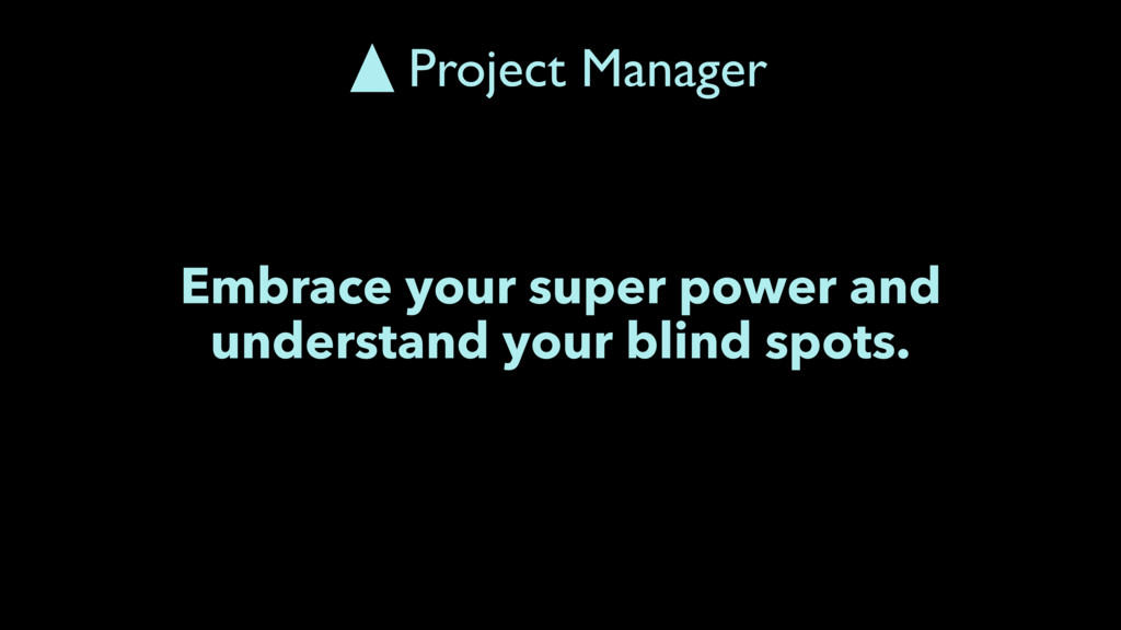 Embrace your super power and understand your bl...