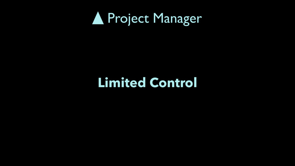 Limited Control Project Manager