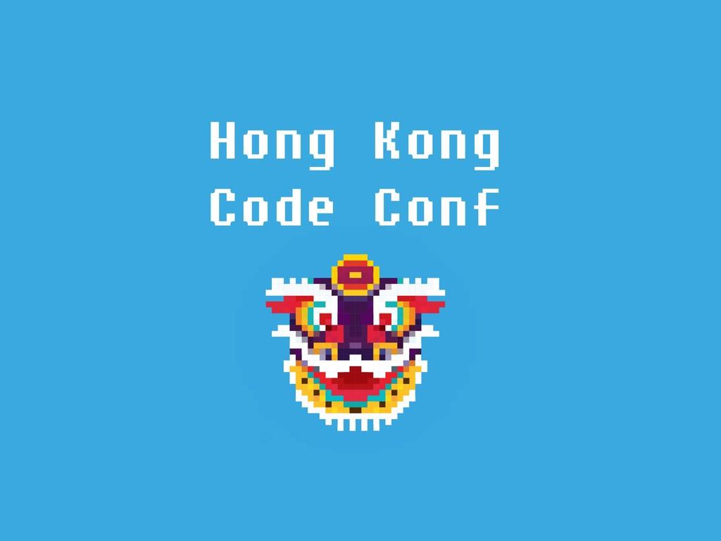 Hong Kong Code Conf