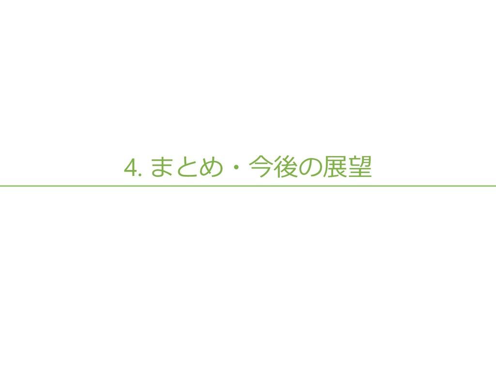4. まとめ・今後の展望 38