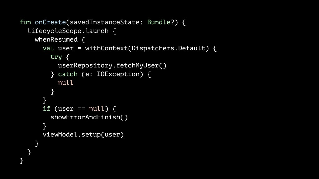 fun onCreate(savedInstanceState: Bundle?) { lif...