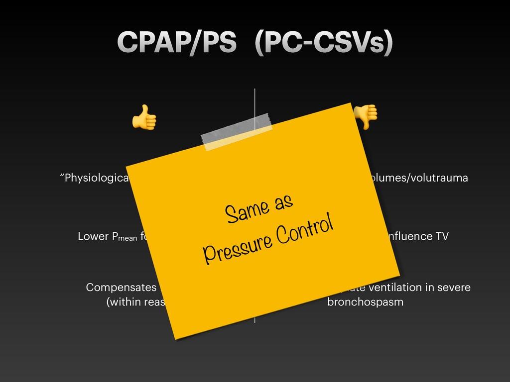 "CPAP/PS (PC CSVs) ! "" ""Physiological"" decelerat..."