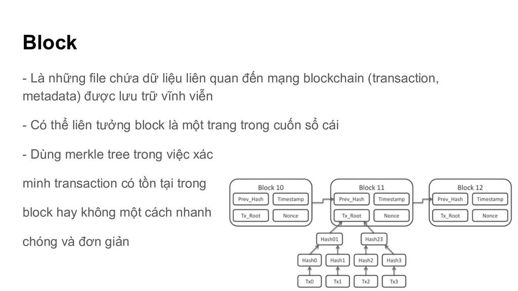 Block - Là những file chứa dữ liệu liên quan đế...