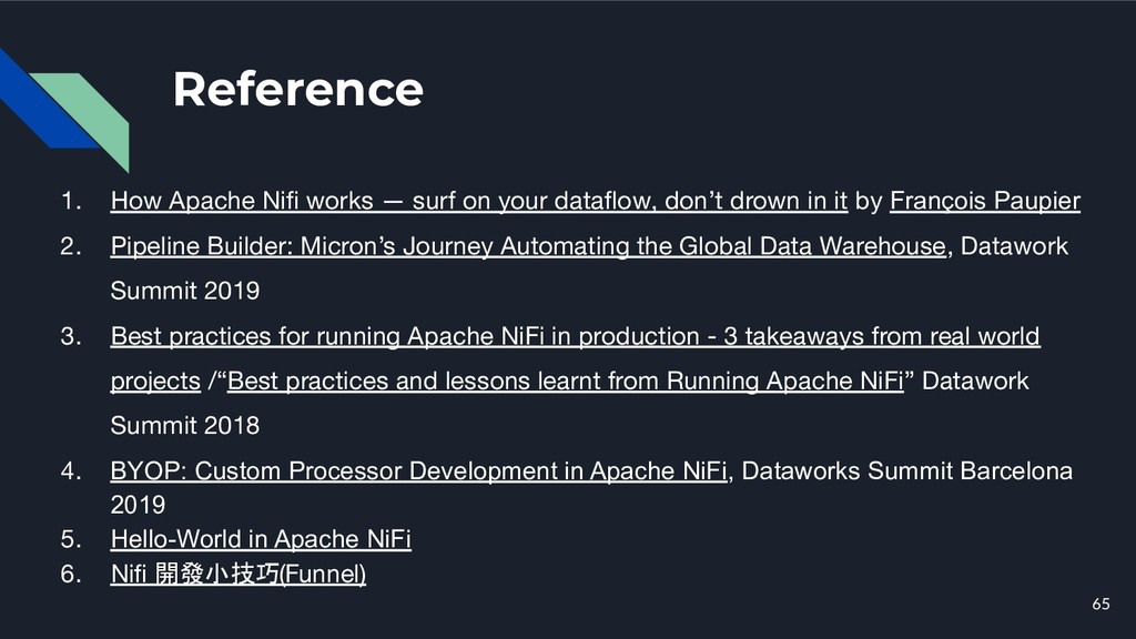 Reference 65 1. How Apache Nifi works — surf on ...
