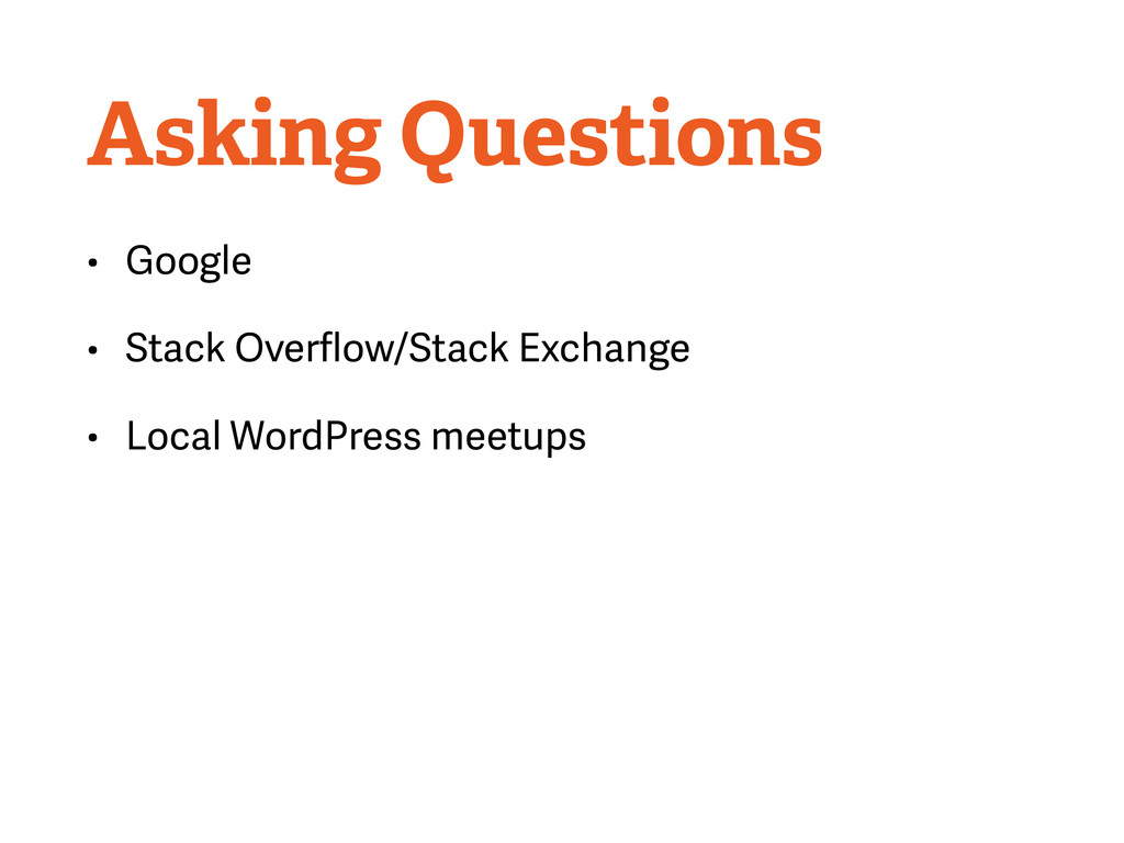 Asking Questions • Google • Stack Overflow/Stack...