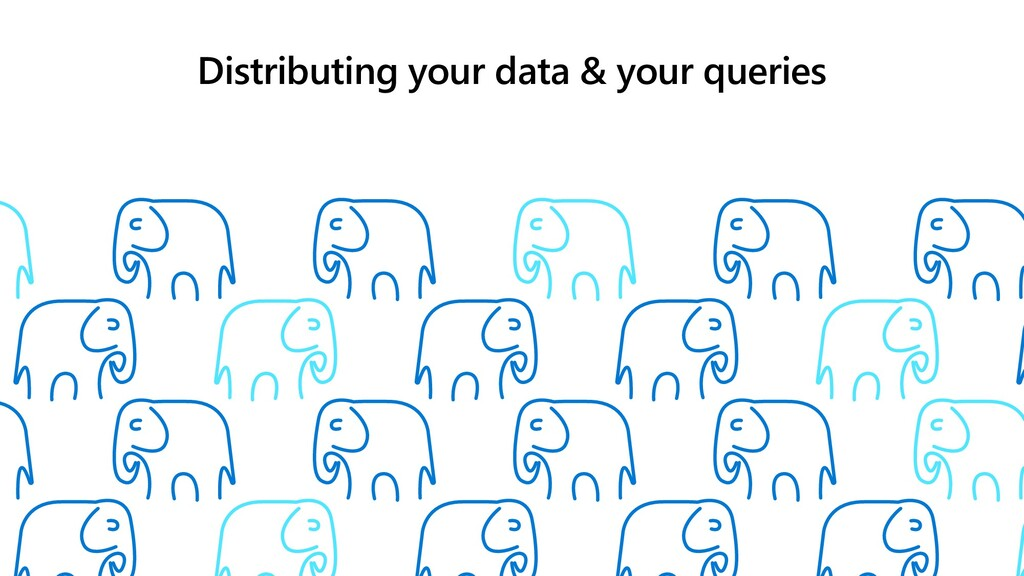Distributing your data & your queries