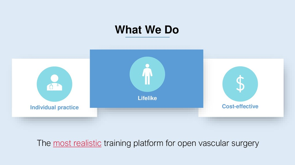 What We Do The most realistic training platform...