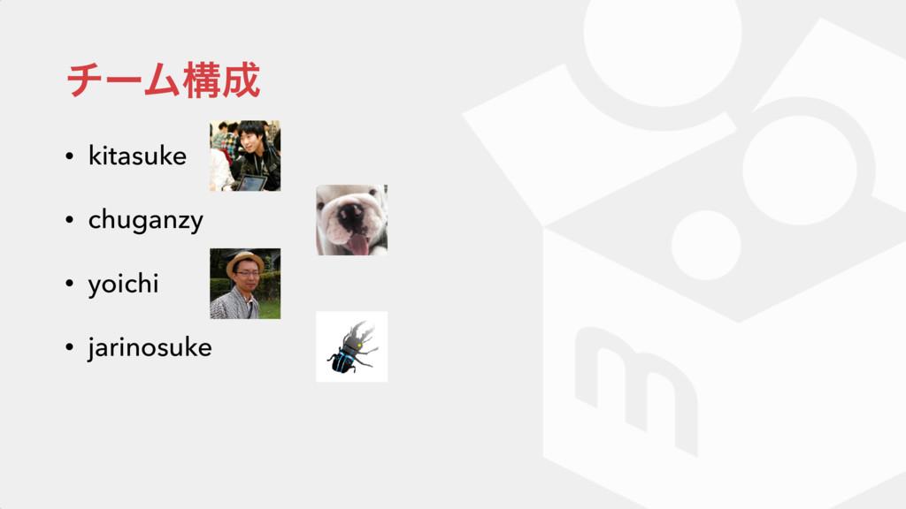 νʔϜߏ • kitasuke • chuganzy • yoichi • jarinosu...