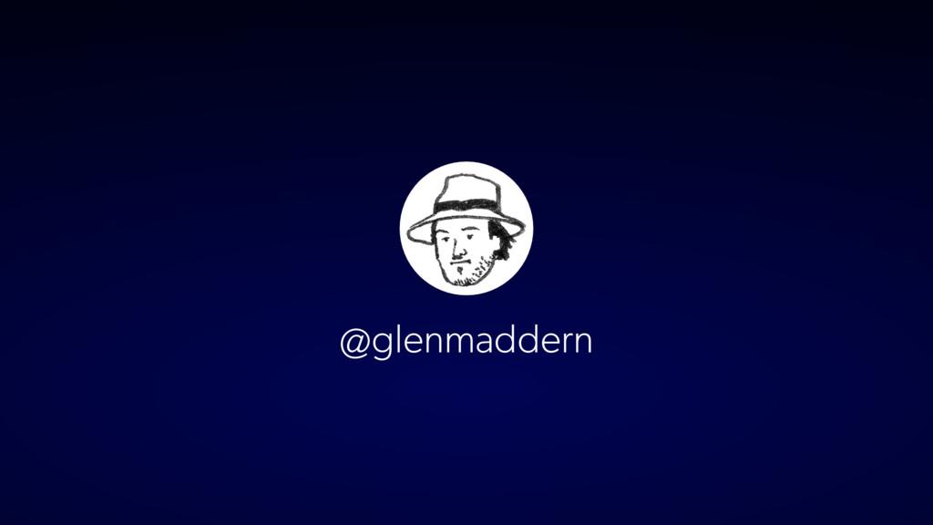 @glenmaddern