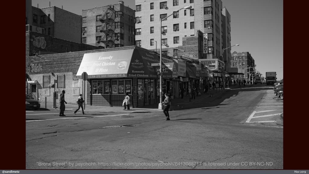 """@sandimetz Nov 2019 """"Bronx Street"""" by psychohh ..."""