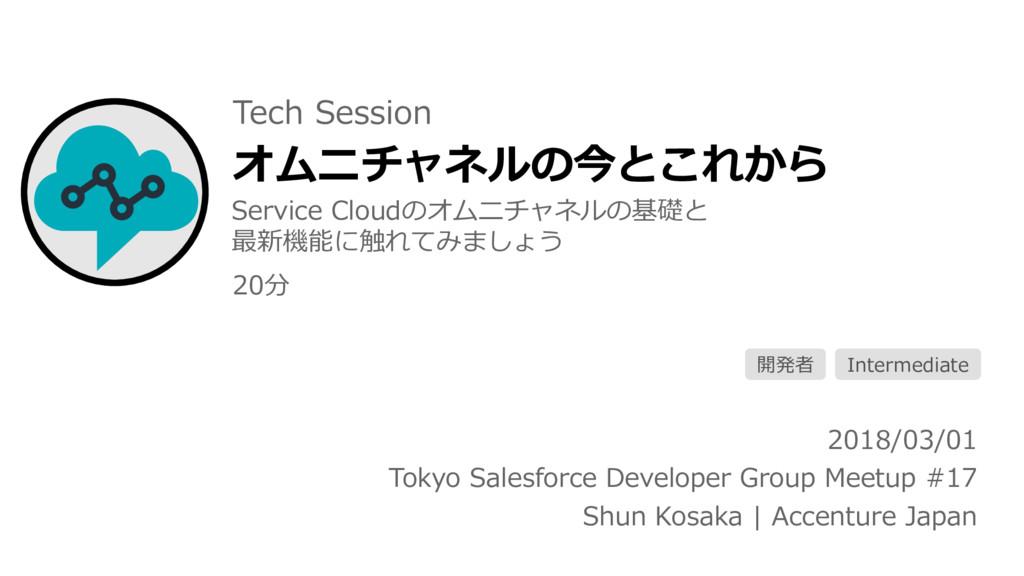オムニチャネルの今とこれから 2018/03/01 Tokyo Salesforce Deve...