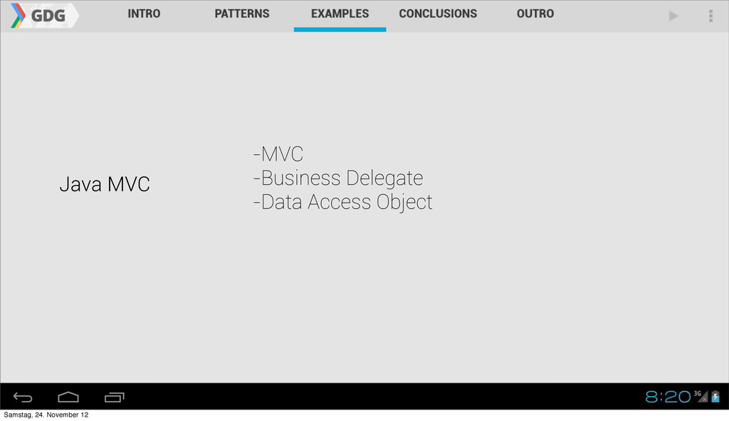 Java MVC -MVC -Business Delegate -Data Access O...