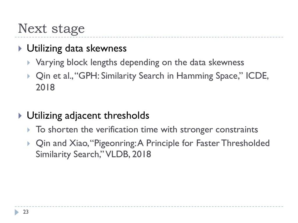 Next stage 23 } Utilizing data skewness } Varyi...
