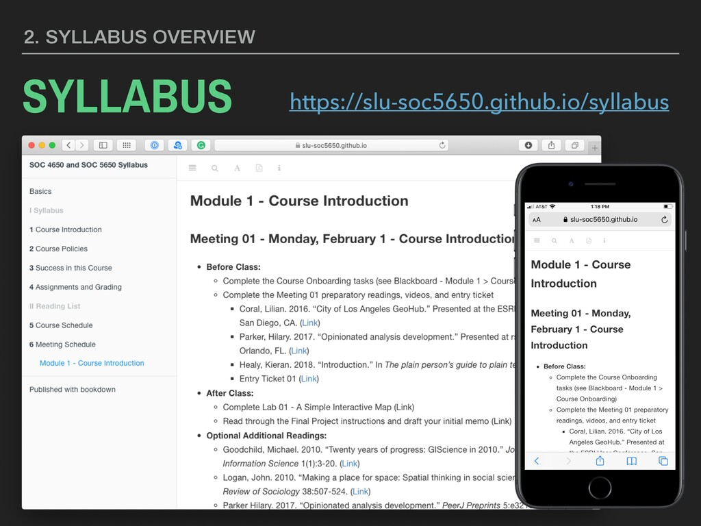 3. SYLLABUS OVERVIEW WEBSITE https://slu-soc565...