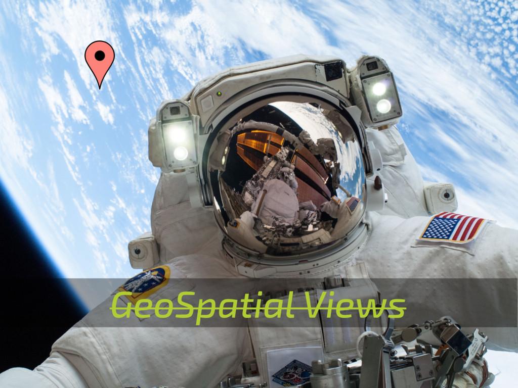GeoSpatial Views