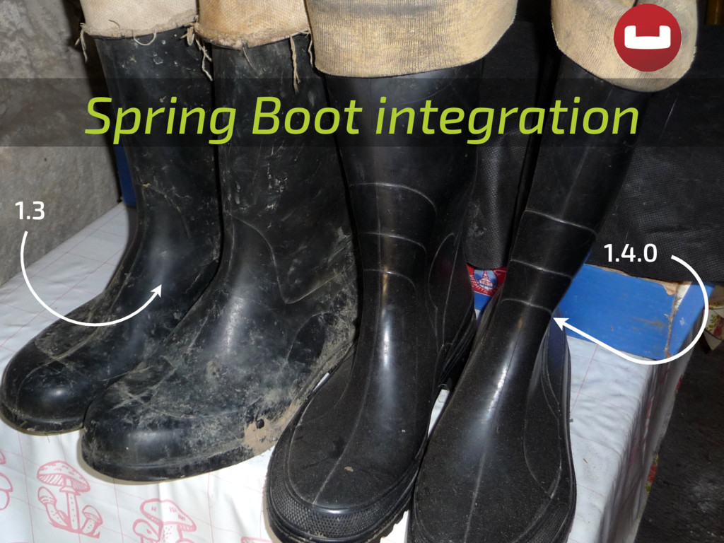 Spring Boot integration 1.3 1.4.0