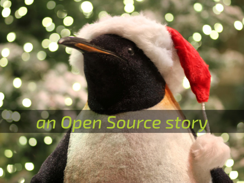 an Open Source story