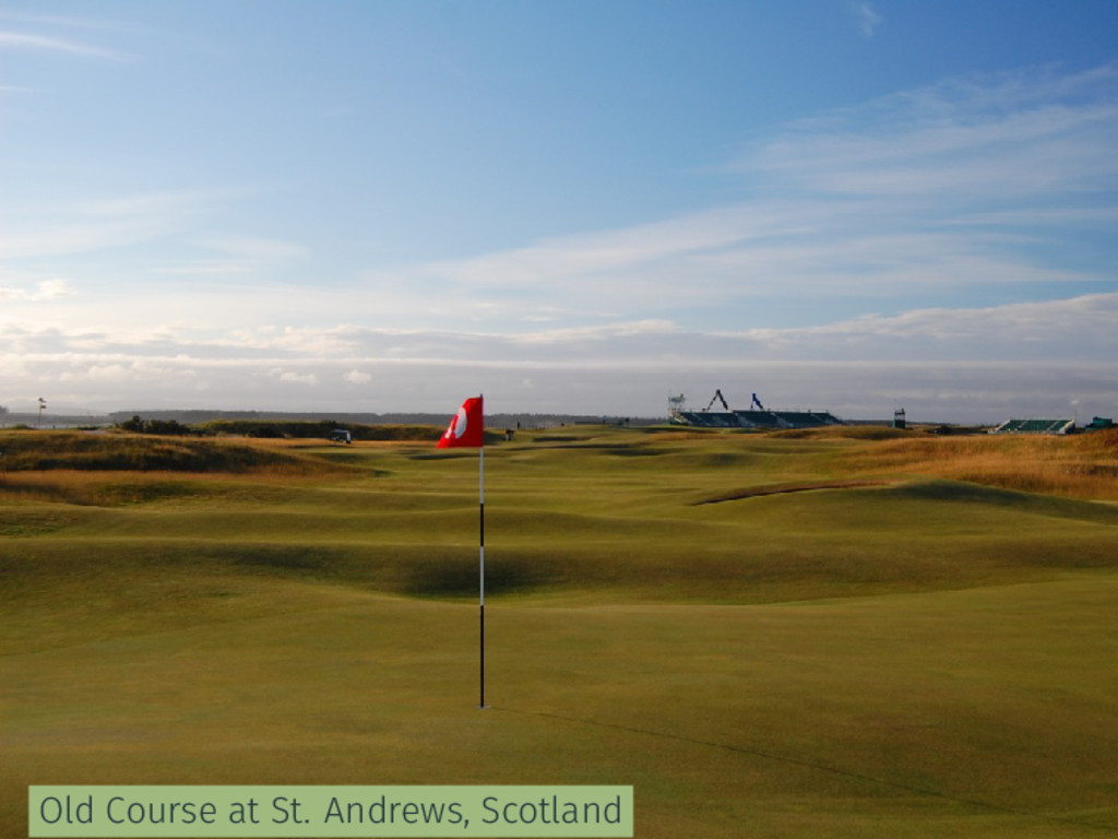 Old Course at St. Andrews, Scotland