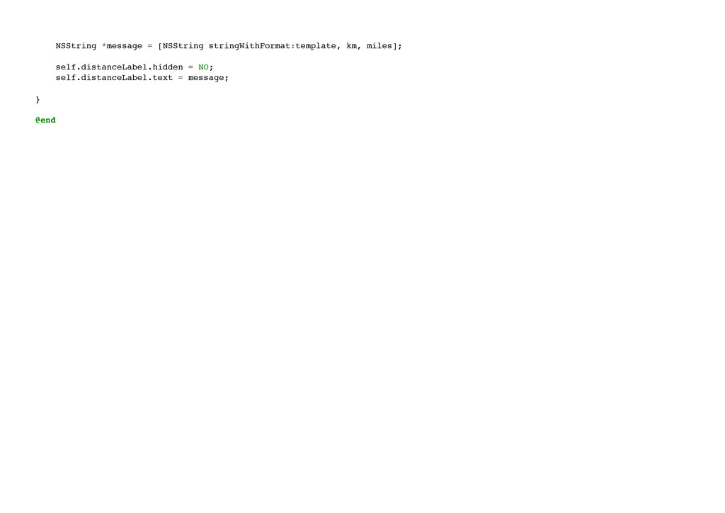 NSString *message = [NSString stringWithFormat:...