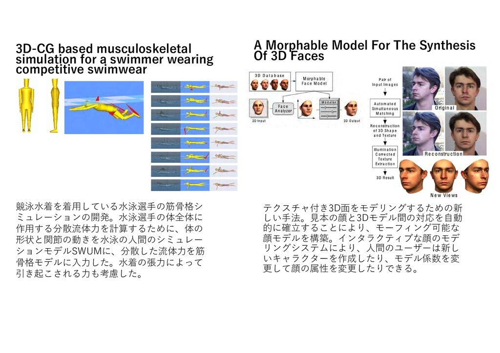 3D-CG based musculoskeletal simulation for a sw...