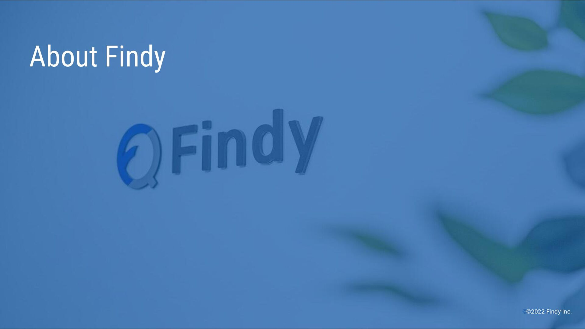 ©2021 Findy Inc. ©2021 Findy Inc. About Findy