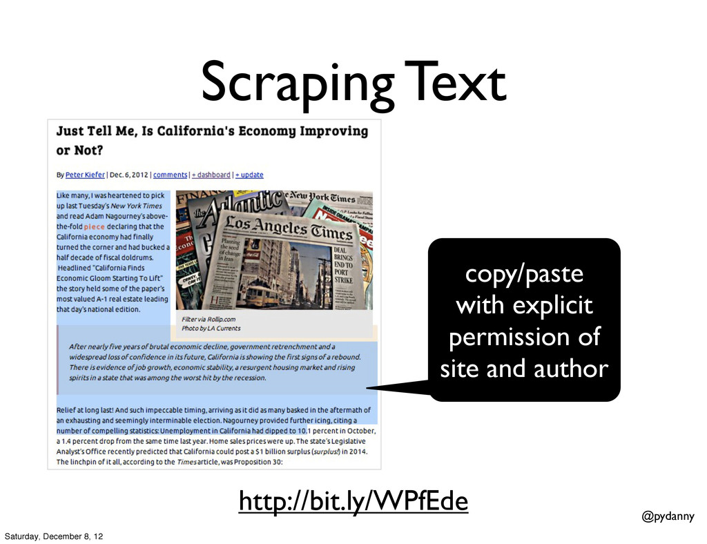 @pydanny Scraping Text copy/paste with explicit...