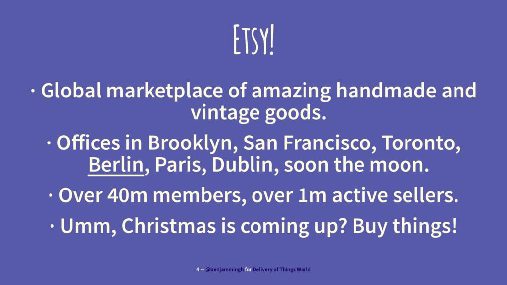 Etsy! · Global marketplace of amazing handmade ...