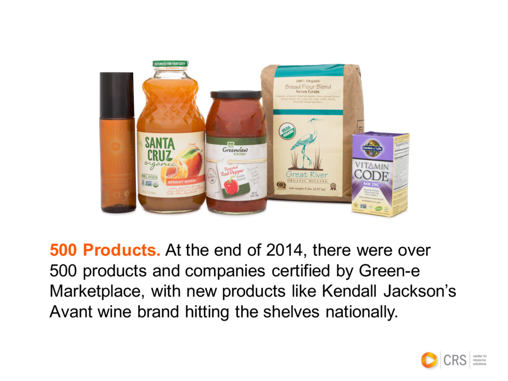 500 Products. At the end of 2014, there were ov...