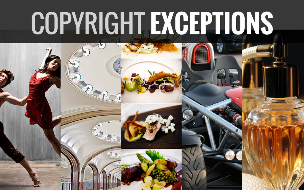 COPYRIGHT EXCEPTIONS