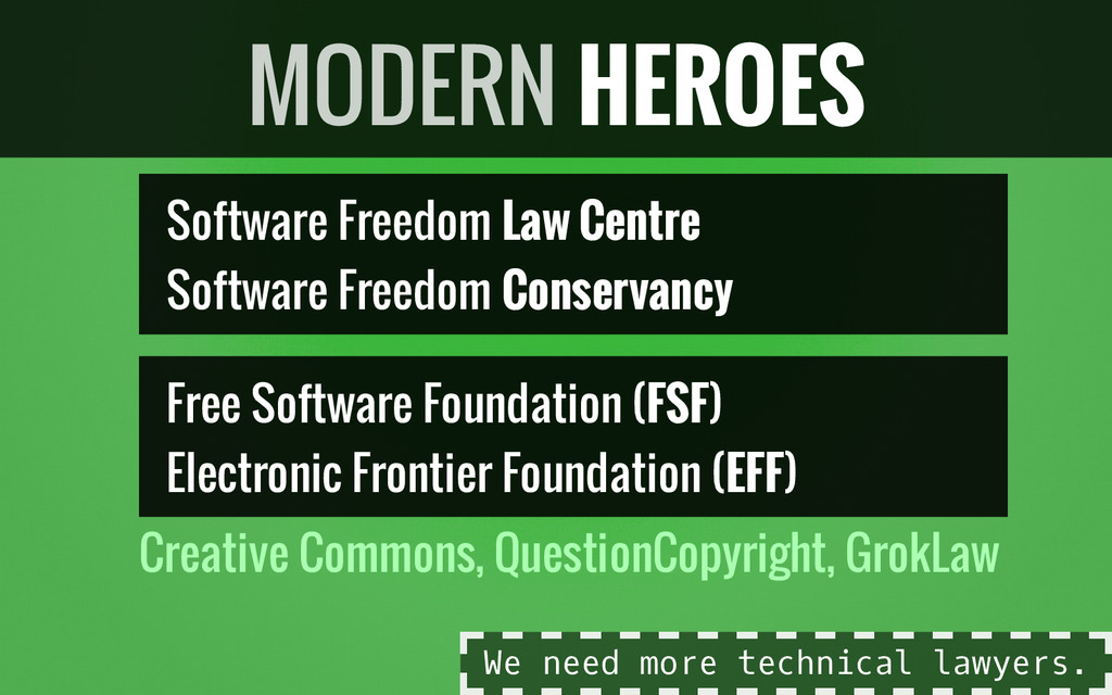 Software Freedom Law Centre Software Freedom Co...