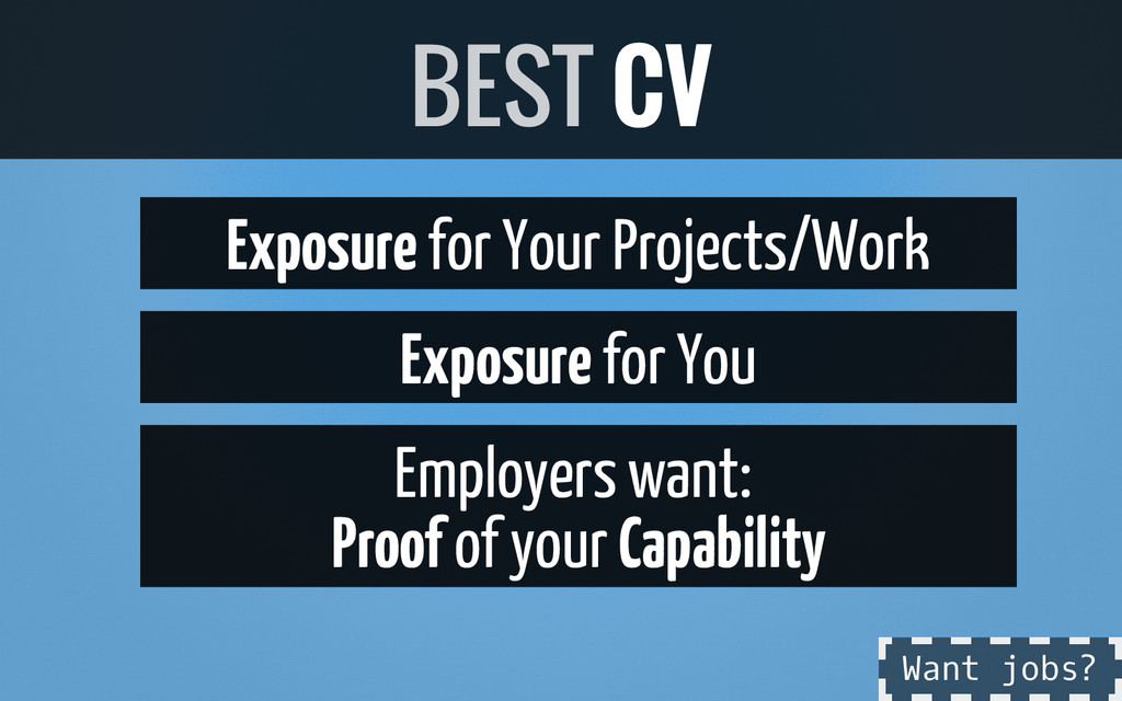 Exposure for Your Projects/Work Exposure for Yo...